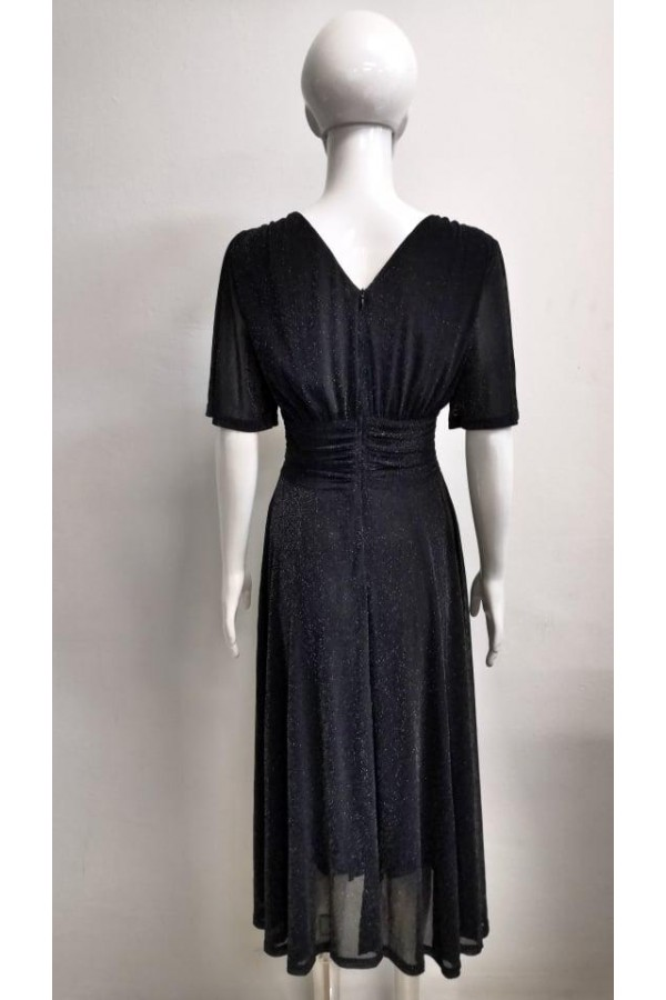 DRESS V156 BLACK