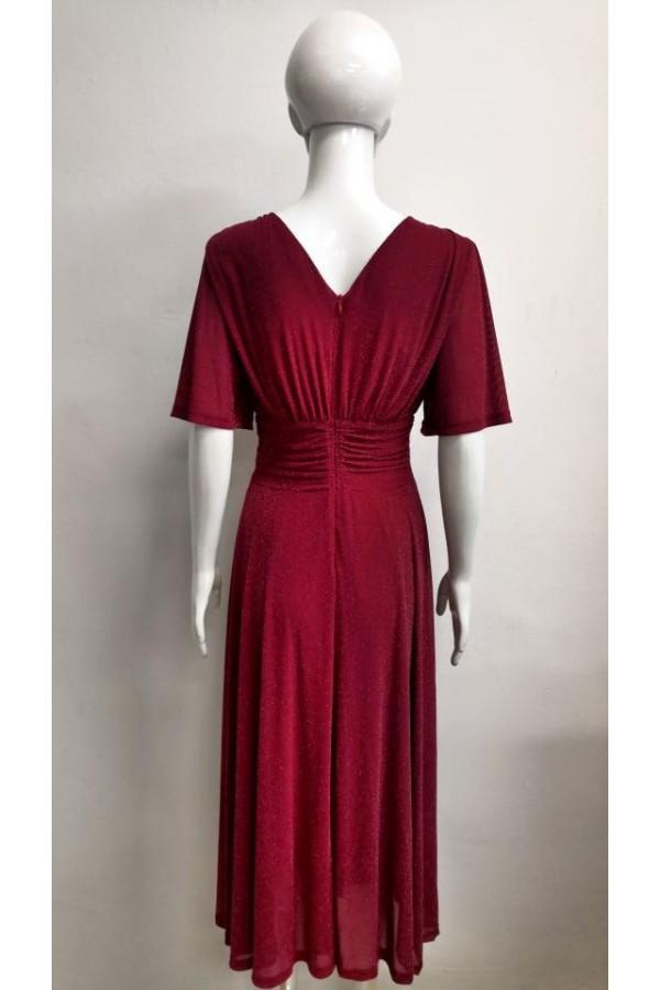 DRESS V156 RED