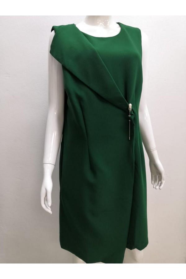 DRESS L0138 GREEN
