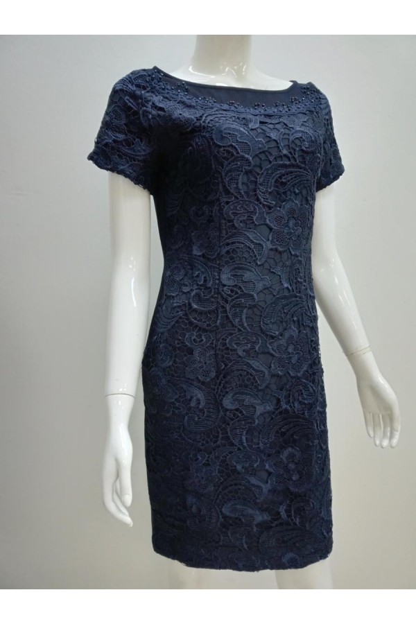 DRESS 635767 BLUE