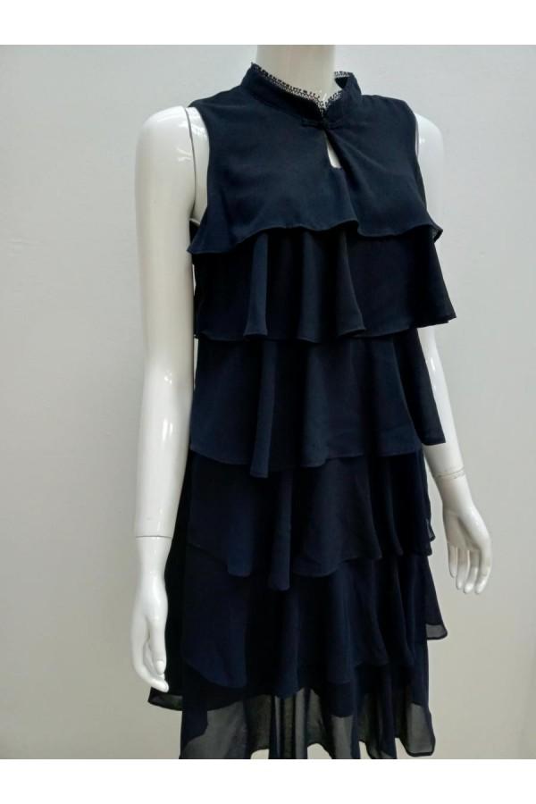 DRESS V197 BLUE