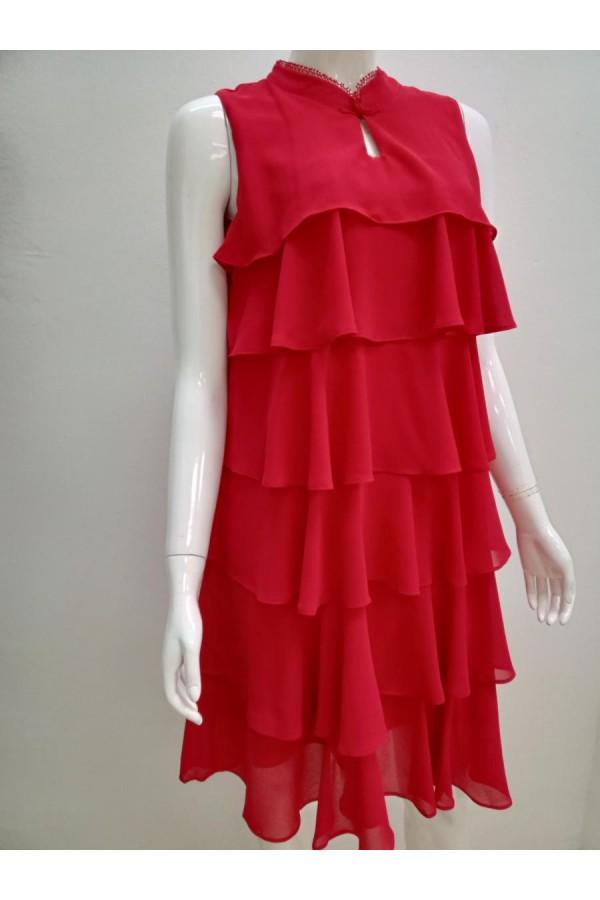 DRESS V197 RED