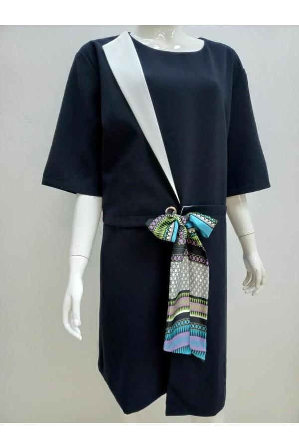 DRESS 20070 BLUE