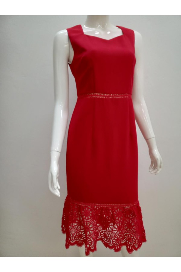 DRESS 631463 RED