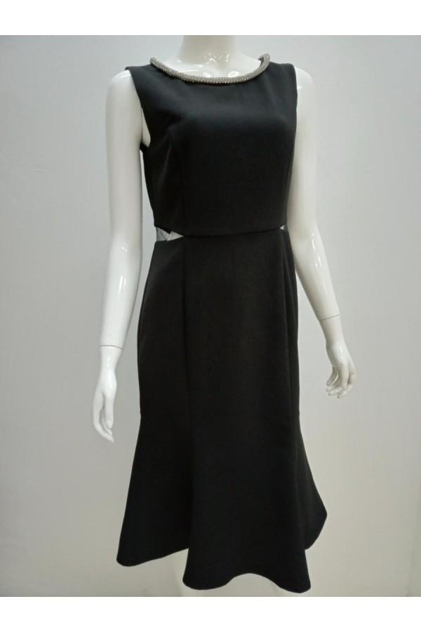 DRESS 6536 BLACK