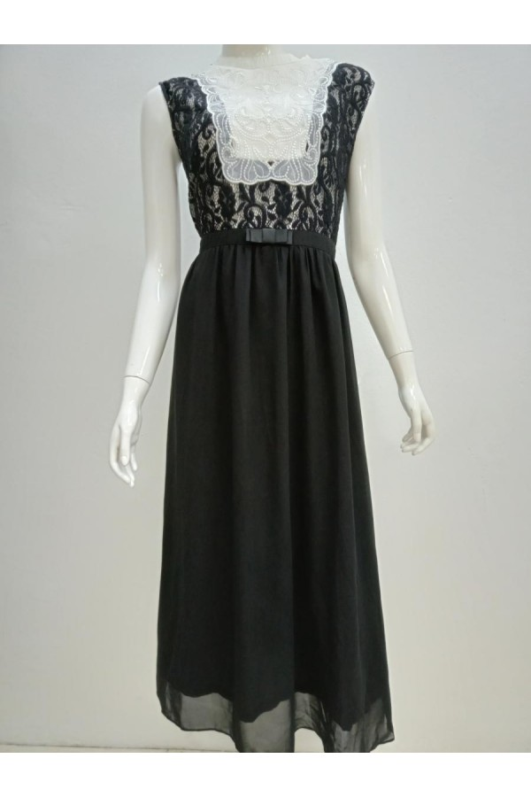 DRESS 15238 BLACK
