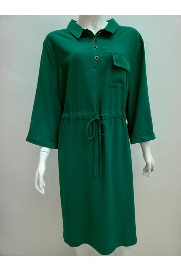 DRESS 5806 GREEN