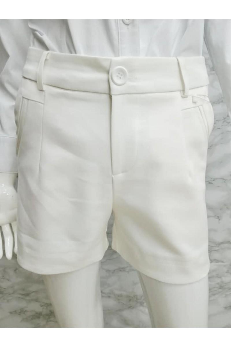SHORT PANT 7790 WHITE