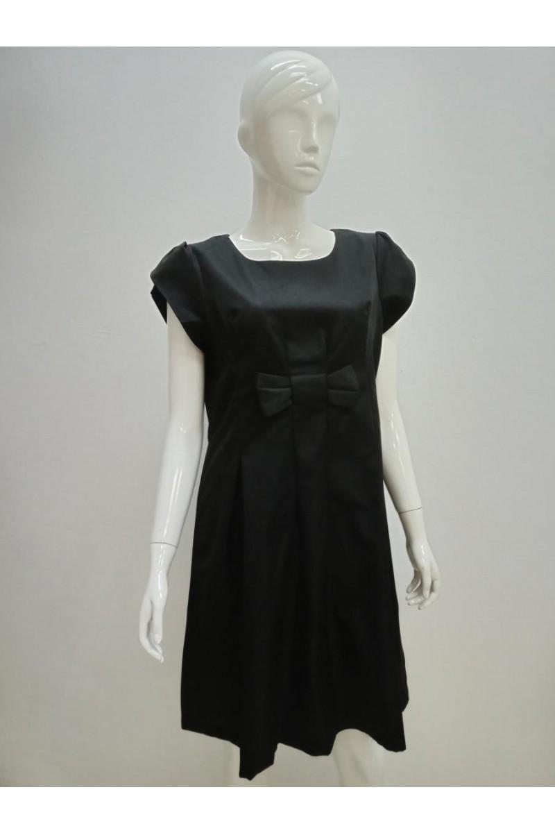 DRESS 190116 BLACK