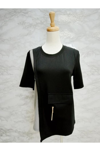 BLOUSE 821816 BLACK