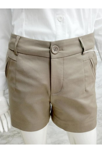 SHORT PANT 7790 BROWN
