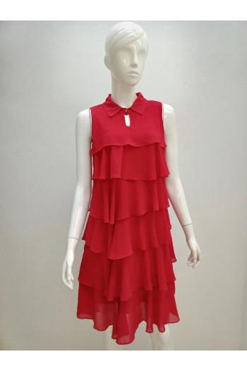 DRESS V196 RED
