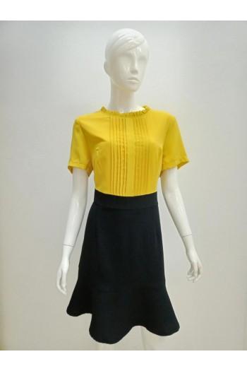 DRESS 9609 YELLOW