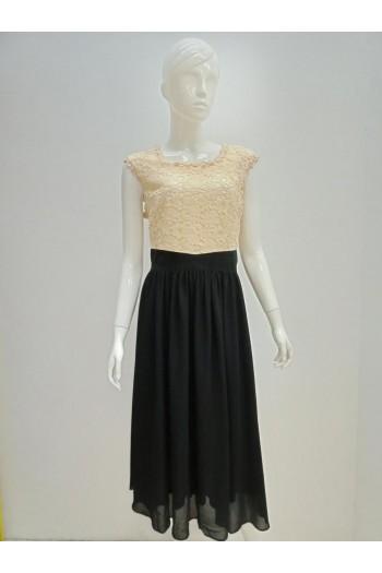 DRESS 190124 BEIGE
