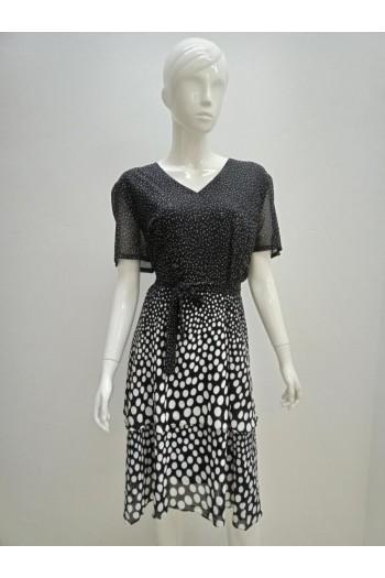 DRESS 633741 BLACK