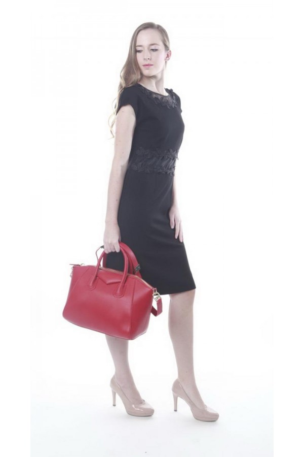 BEVERLY BAG IN RED