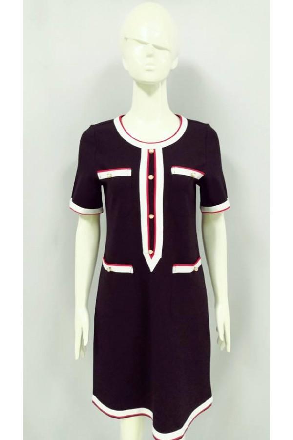 SABRINA  DRESS BLACK 88365