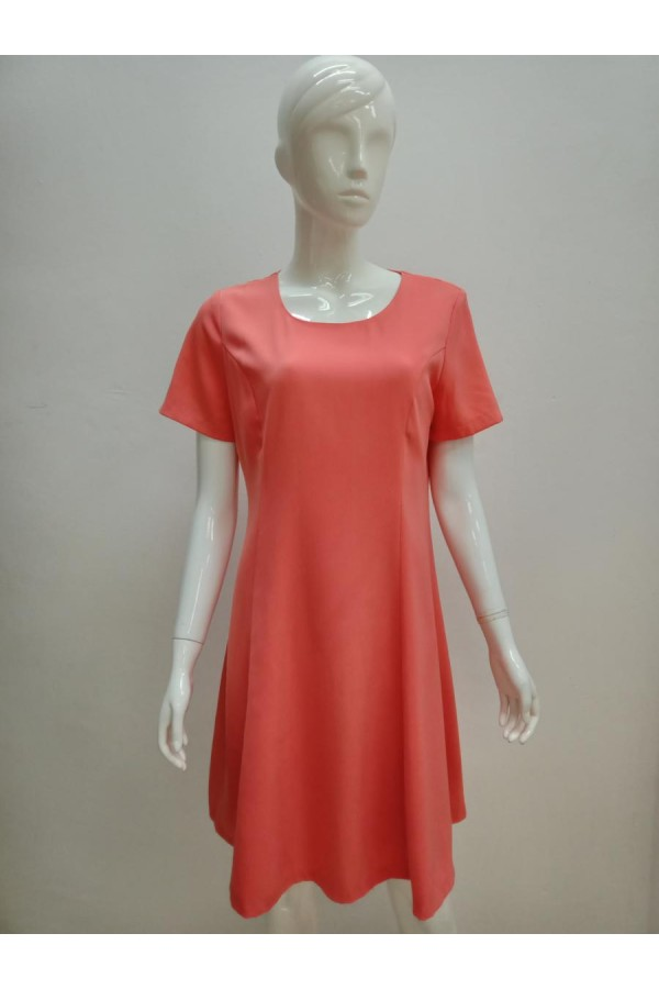 DRESS V165 ORANGE