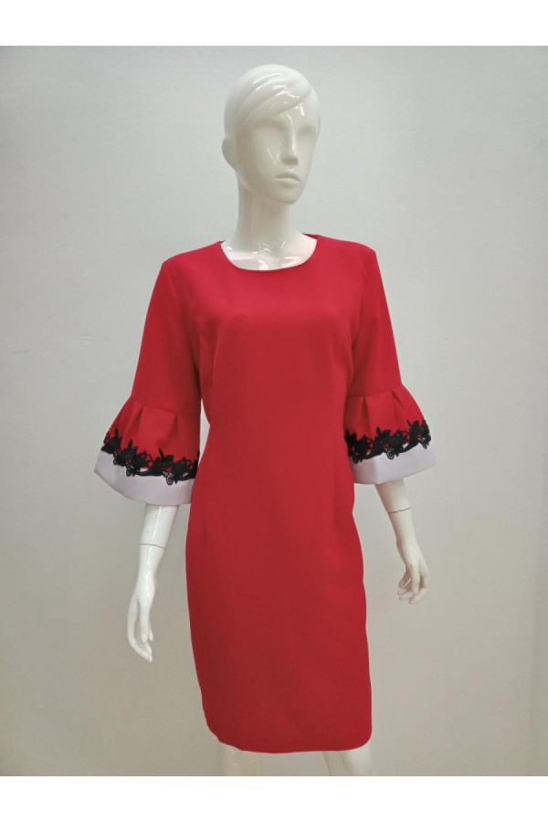 DRESS 633047 RED