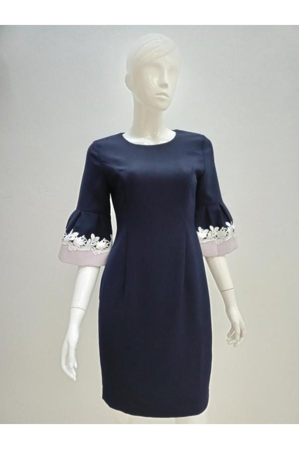 DRESS 633047 BLUE