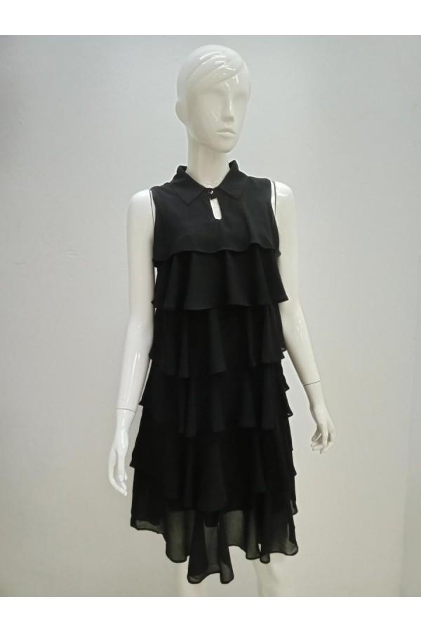 DRESS V196 BLACK