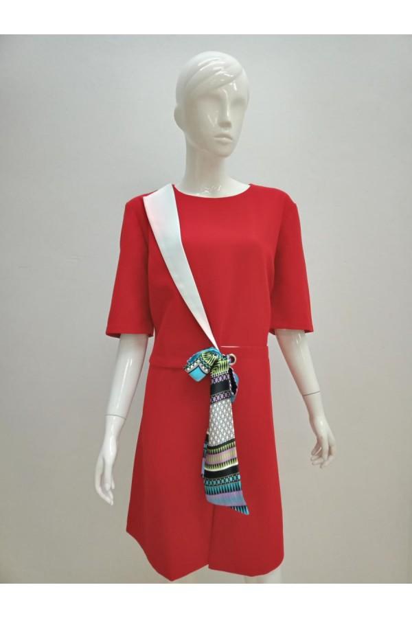 DRESS 20070 RED