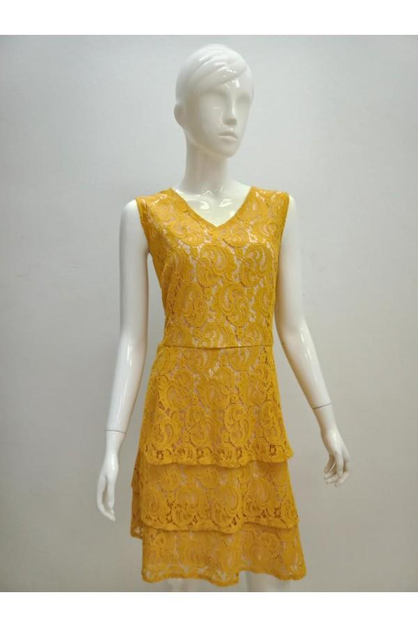DRESS D2013 YELLOW