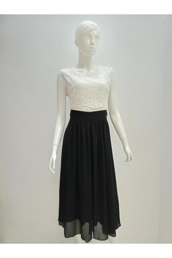 DRESS 190124 WHITE