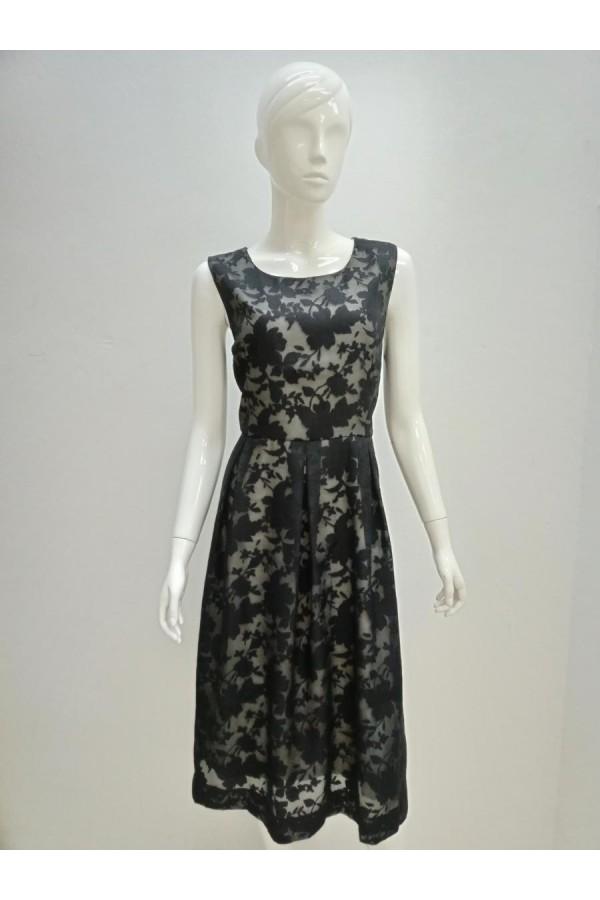 DRESS 190126 BEIGE-