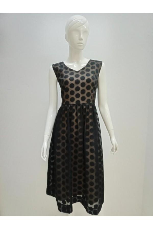 DRESS 630977 BLACK