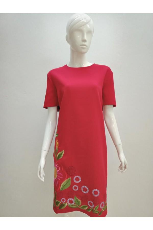 DRESS 20090 RED